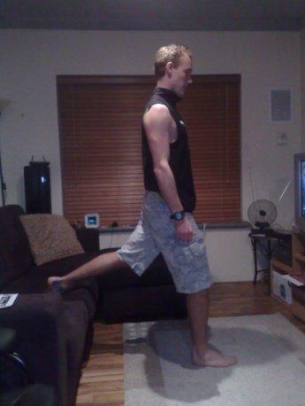 Single leg lunge