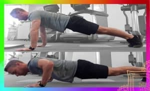 Push up demonstration